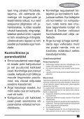 BlackandDecker Aspirateur Auto- Adv1210 - Type H1 - Instruction Manual (Estonie) - Page 5