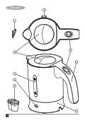 BlackandDecker Bouilloire- Tr250ja - Type 1 - Instruction Manual (Anglaise - Arabe) - Page 2