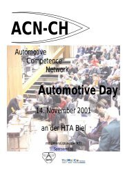 Automotive Day - ACN-CH Das Automotive Competence Network ...
