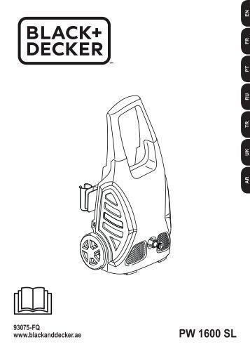 BlackandDecker Nettoyeurs Haute Pression- Pw1600sl - Type 1 - Instruction Manual (Européen)