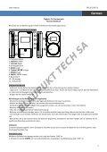 Blaupunkt Radio analogique Blaupunkt BD-20 - notice - Page 2