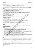 Blaupunkt Radio analogique Blaupunkt BD-20 - notice - Page 3