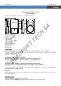 Blaupunkt Radio analogique Blaupunkt BD-20 - notice - Page 6
