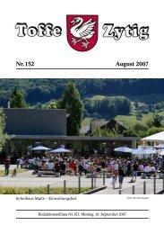 Nr. 152 August 2007 - Toffe Zytig