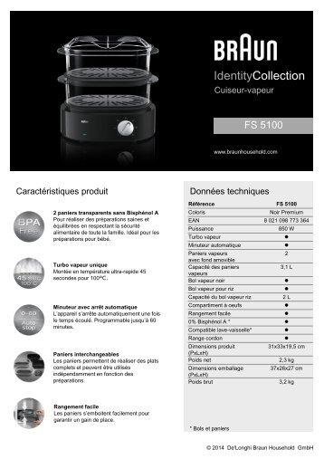 Futura marvel cuiseur vapeur - Cuiseur vapeur electro depot ...