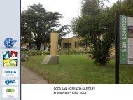 CCCA SAN LORENZO PROPUESTAS