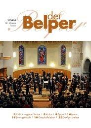 Februar 2010 - Der Belper