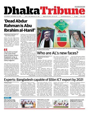 DT e-Paper, Saturday, October 22, 2016