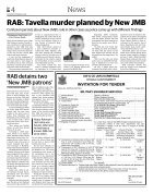 DT e-Paper, Saturday, October 22, 2016 - Page 4