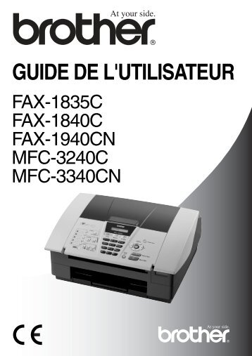 Brother FAX-1940CN - Guide utilisateur