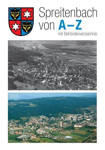Spreitenbach von A–Z - Gemeinde Spreitenbach
