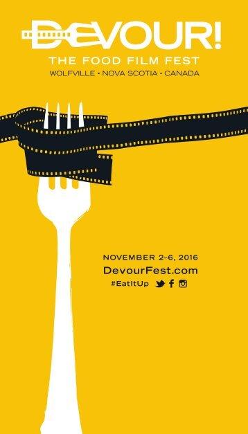 NOVEMBER 2–6 2016