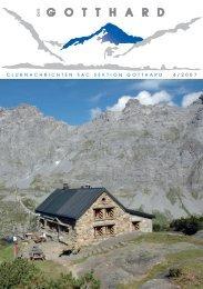 6472 Erstfeld Hofstatt 3 Ausstellung - SAC-Gotthard