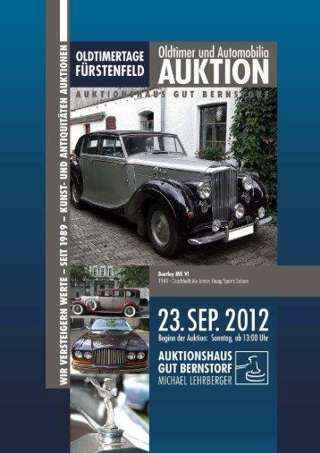 PDF Download - Auktionshaus Gut Bernstorf