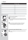 Philips Norelco Beardtrimmer 3100 Beard trimmer, Series 3000 - User manual - POR - Page 6