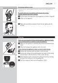 Philips Norelco Beardtrimmer 3100 Beard trimmer, Series 3000 - User manual - POR - Page 7