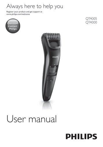Philips Norelco Beardtrimmer 3100 Beard trimmer, Series 3000 - User manual - FIN
