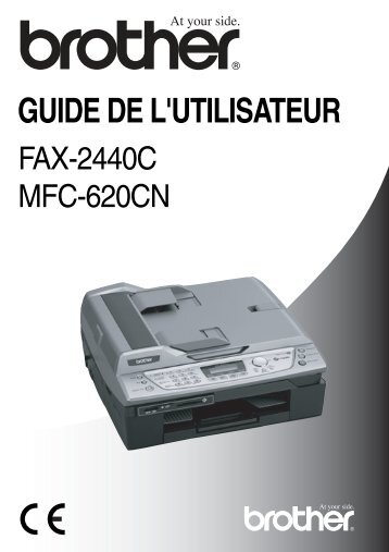 Brother FAX-2440C - Guide utilisateur