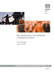 Non-standard forms of employment in Uganda and Ghana