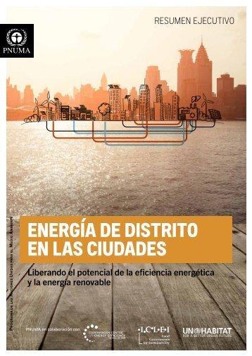 ENERGÍA DE DISTRITO EN LAS CIUDADES