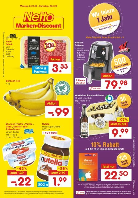 Netto Marken-Discount Prospekt KW 43 Onlineprospekt.com
