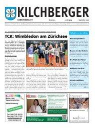 Kilchberger Gemeindeblatt September 2012 - Gemeinde Kilchberg