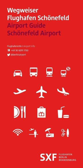 Airport Guide Schönefeld Airport