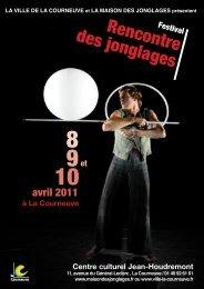 programme du Festival des Jonglages - Courneuve