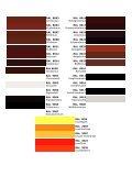 RAL Farbtabelle - Seite 5