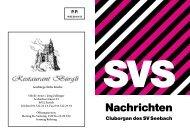 Internet, Nr.160, Dezember 2010 - Sportverein Seebach