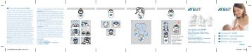 Philips Avent Natural baby bottle - User manual - RUS