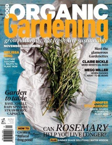6. Good Organic Gardening - November-December 2016 AvxHome.in