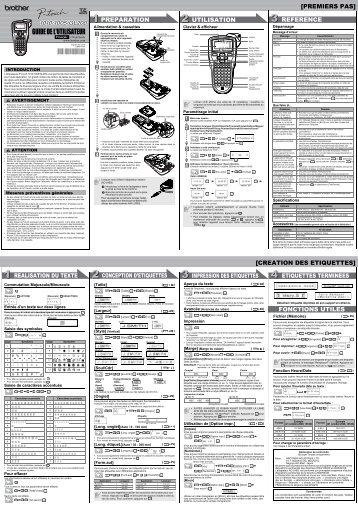 Brother GL-200 - Guide utilisateur
