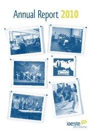 Annual Report 2010 - IAESTE Switzerland