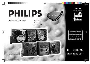Philips Mini Audio System - User manual - BRP
