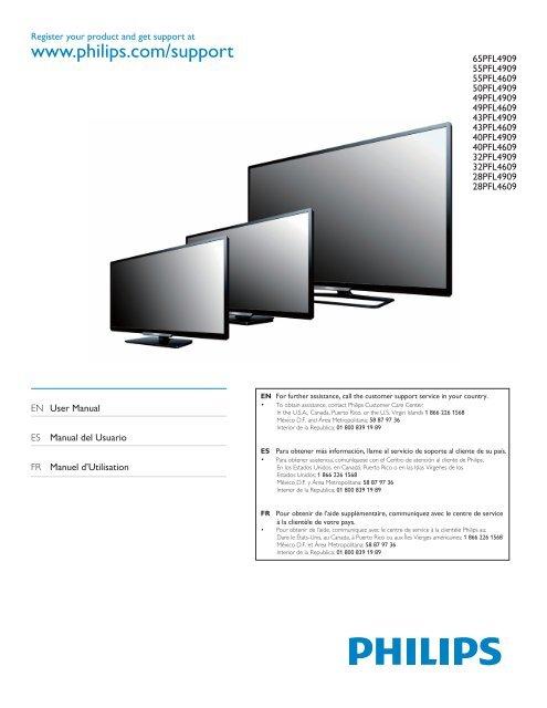 philips manual tv lcd