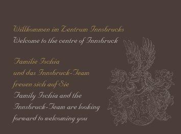 Hotel Innsbruck Hausprospekt
