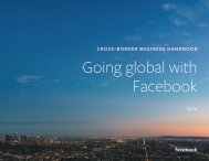 Going global with Facebook