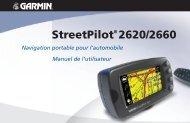 Garmin StreetPilot 2620 - Manuel d'utilisation