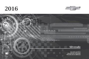 Chevrolet 2016 Silverado - View Owner's Manual