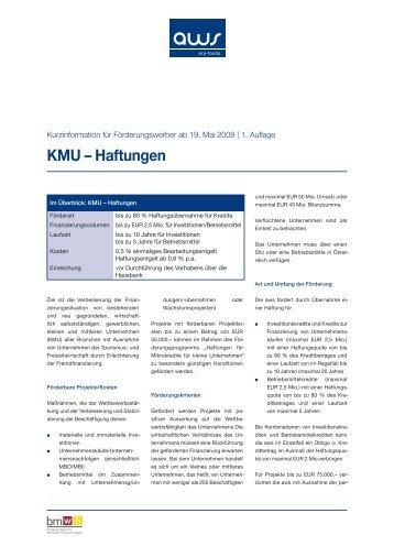 KMU – Haftungen - evolve