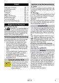Karcher K 5.700 - manuals - Page 5