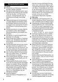 Karcher K 5.700 - manuals - Page 6