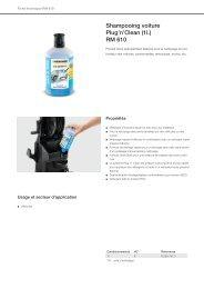 Karcher Shampoing auto Karcher Shampoing auto 3 en 1 - fiche produit