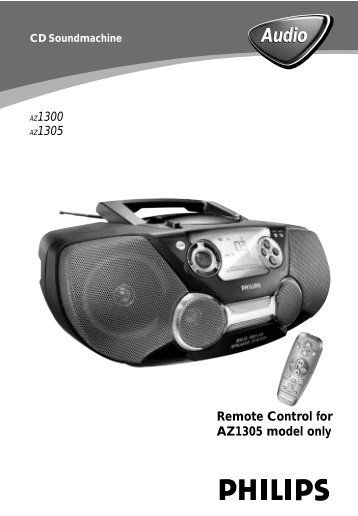 Philips CD Soundmachine - User manual - HUN