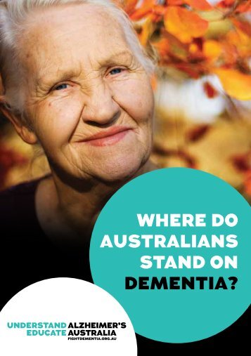 STAND ON DEMENTIA?