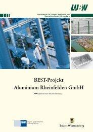 BEST-Projekt Aluminium Rheinfelden GmbH - Umwelttechnologie ...
