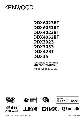 Kenwood DDX3023 - Car Electronics Swedish ()