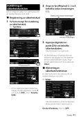 Kenwood DDX3023 - Car Electronics Swedish () - Page 7