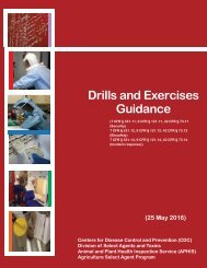 Drills and Exercises Guidance